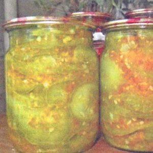 Цукини в остром соусе