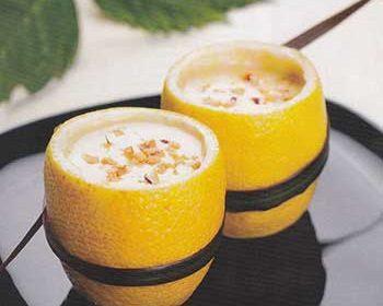Мусс лимонный