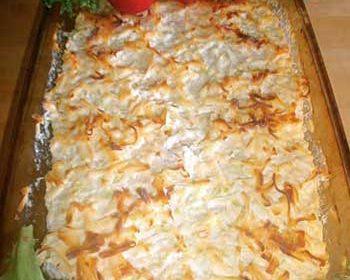 Запеканка с курицей и кабачками с сыром