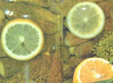 Маринованные огурцы Лимонный вкус