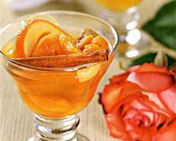 Десерт «Пьяные фрукты»