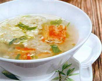 Кани дзосуй, японский суп с крабами и яйцами