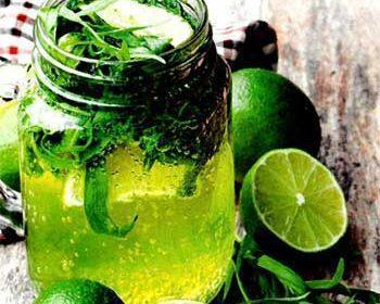 Лимонад с лаймом и тархуном