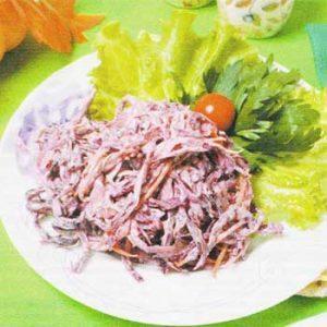 Салат из краснокочанной капусты «Коул-слоу»