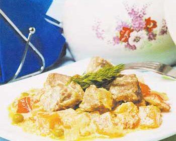 Жаркое из говядины и сладкого перца Праздничное