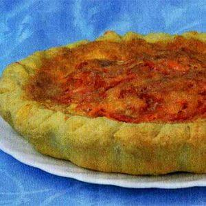 Пирог с корейской морковью