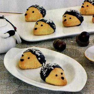 Печенье «Ежики»