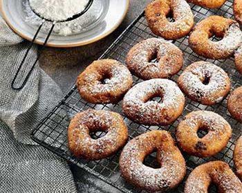 Творожные блинчики-пончики с шоколадом