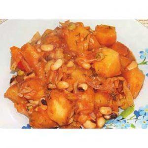 Овощное рагу из фасоли, капусты и картофеля в мультиварке