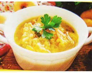 Суп с пшеном и рыбой