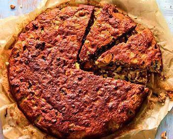 Тыквенный кекс с сухофруктами