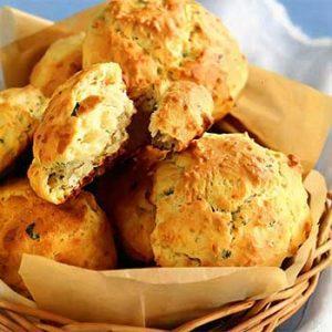 Овсяное печенье с яблоками и изюмом