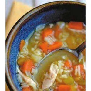 Суп из кролика с сельдереем