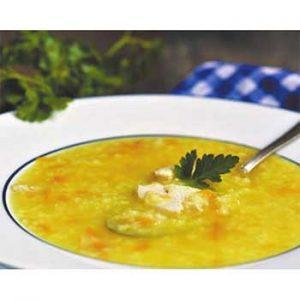 Куриный суп с кускусом и картошкой