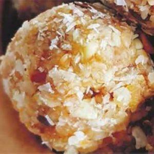 Белковые шариком с сухофруктами и орешками