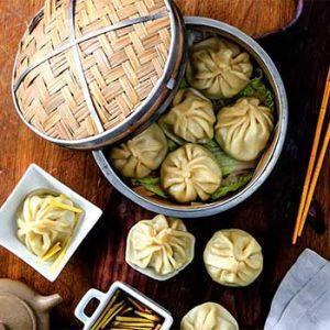 Китайские булочки сяо лунь бао