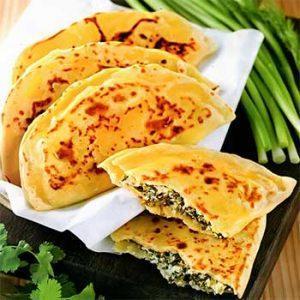 Лепешки с сыром и зеленью в прованском стиле