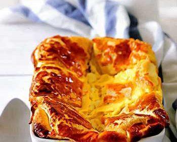 Болгарский пирог баница с сыром