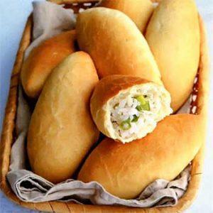 Постное дрожжевое тесто и лепка пирожков