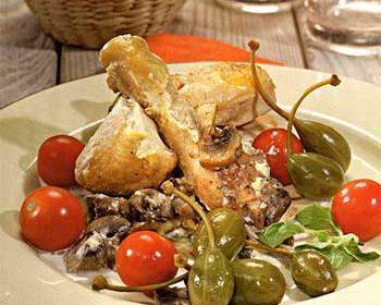 Цыпленок по-нормандски