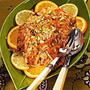 Рис с фисташками по-индийски