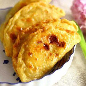 Азиатские пирожки с курицей