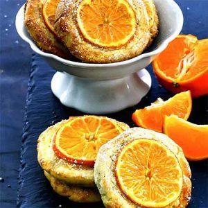 Печенье с клементинами