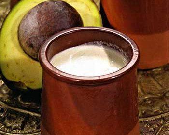 Индонезийский напиток из авокадо