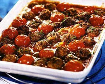 Тефтели с томатами