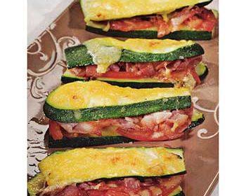 Овощная закуска «сэндвичи» из цукини