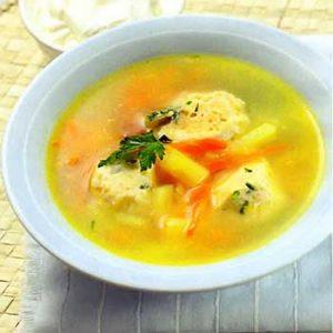 Итальянский суп с куриными грудками