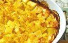 Картофель в чесночной заливке