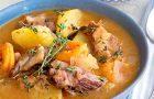 Пряный суп с ягнятиной и картофелем