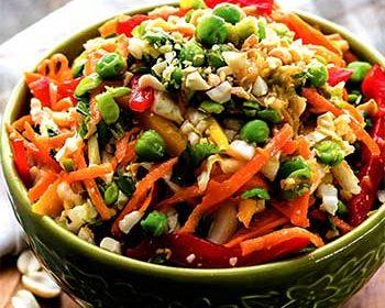 Тайский овощной салат