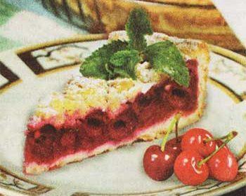 Пирог из кефира «Ягодки» в мультиварке