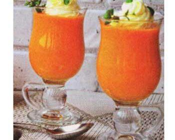 Тыквенный суп «Капучино»
