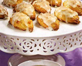 Миндальное печенье с цукатами