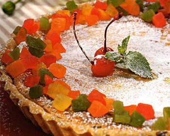 Творожно-медовый торт