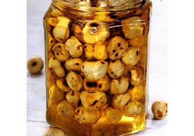 Гвоздичный мед с орехами