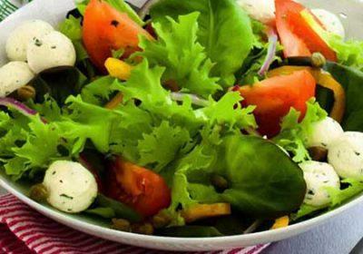 Салат с фетой по-гречески