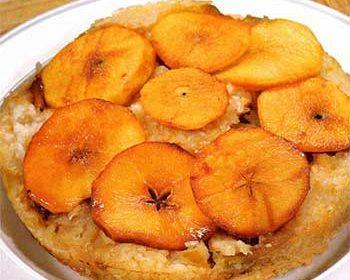 Рисовый пирог с яблоками
